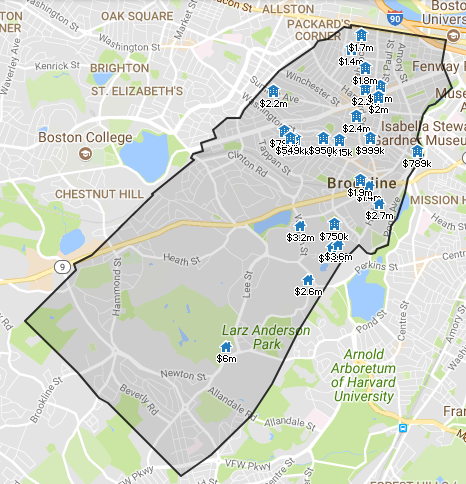 Click here for Brookline Real Estate